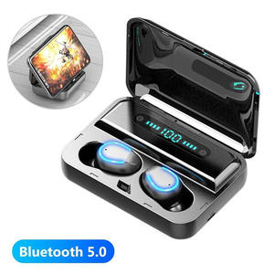 Bluetooth Headset LED Power Digital display TWS 5.0 Sports Headset With Mobile Power Function