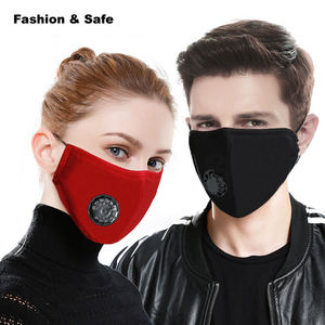 PM2.5 Anti Dust 5 Layers Cotton custom Active Carbon Filter breathable washable filter face maskes