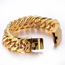 18K Gold plated curb chain bracelet and necklace hotsale jewelry for men in India