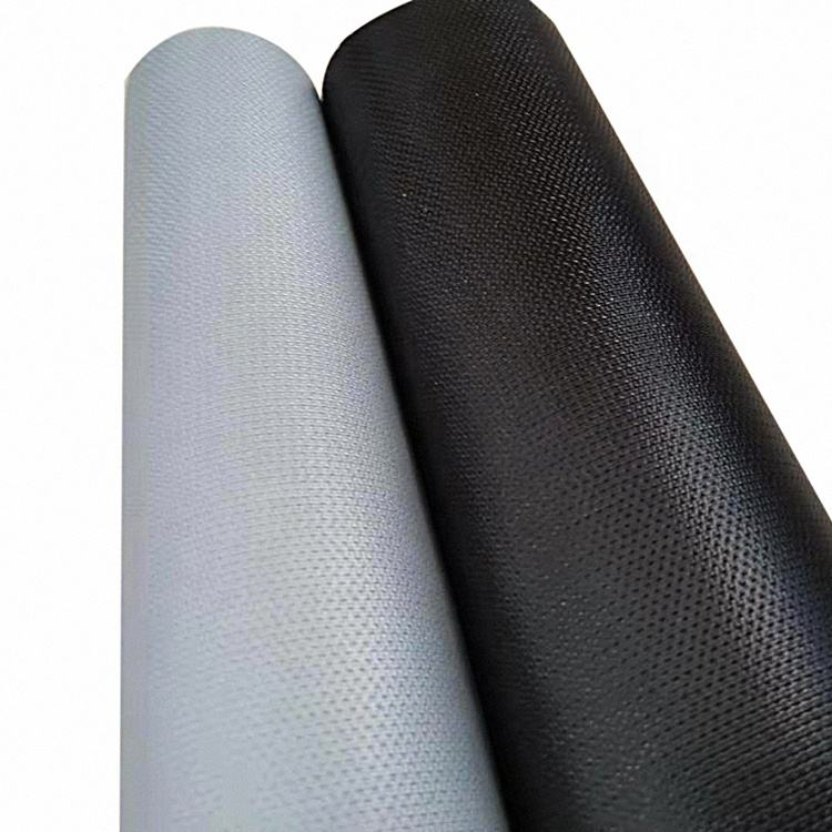 2019 top seller resistance silicone rubber coated cloth silica glass fiber cloth silicone coated glass fiber
