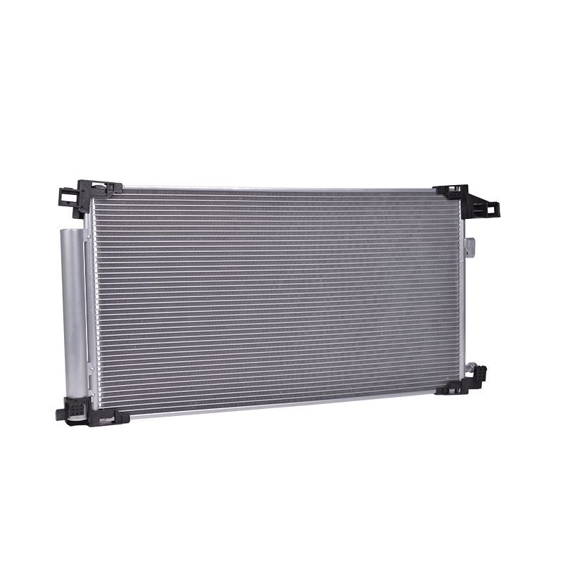 Car Cast Iron Brass Profile Coolant Fan Aluminum Radiator With Spare Parts Cover Silicone Hoses Support Valve Tank Core