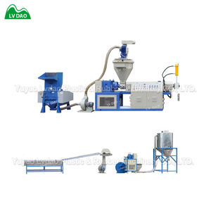 China product PP PE afval kunststoffen recycle plastic korrels making machine