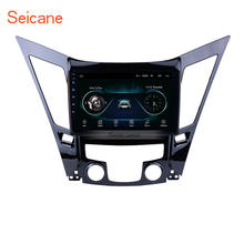 9 inch Android 9.1 GPS Navigation radio for  2011-2015 HYUNDAI Sonata i40 i45 with Bluetooth USB WIFI support SWC 1080P