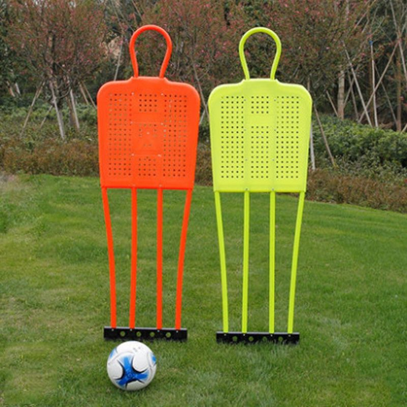 1.75cm Free Kick Defender Wall Soccer Training Equipment Football Metal Mannequin