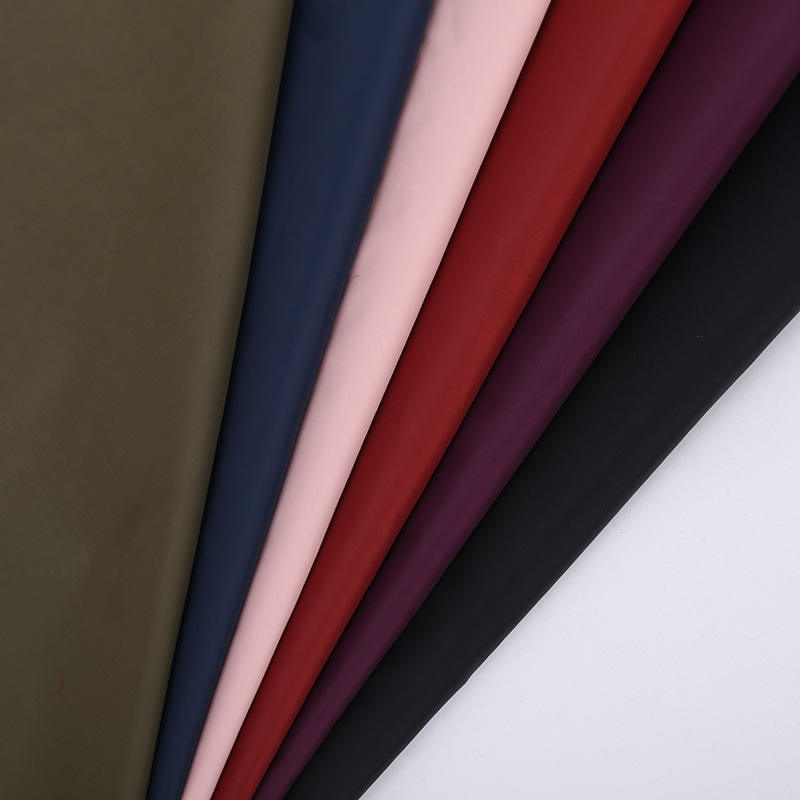 210D Polyester Taffeta Lining Fabric for Bag Making