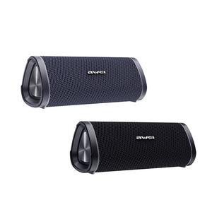 Awei Nieuwste Corporate Gift Dual Stereo Surround Sound Audio Draadloze Draagbare Mini Auto Bluetooth Speakers