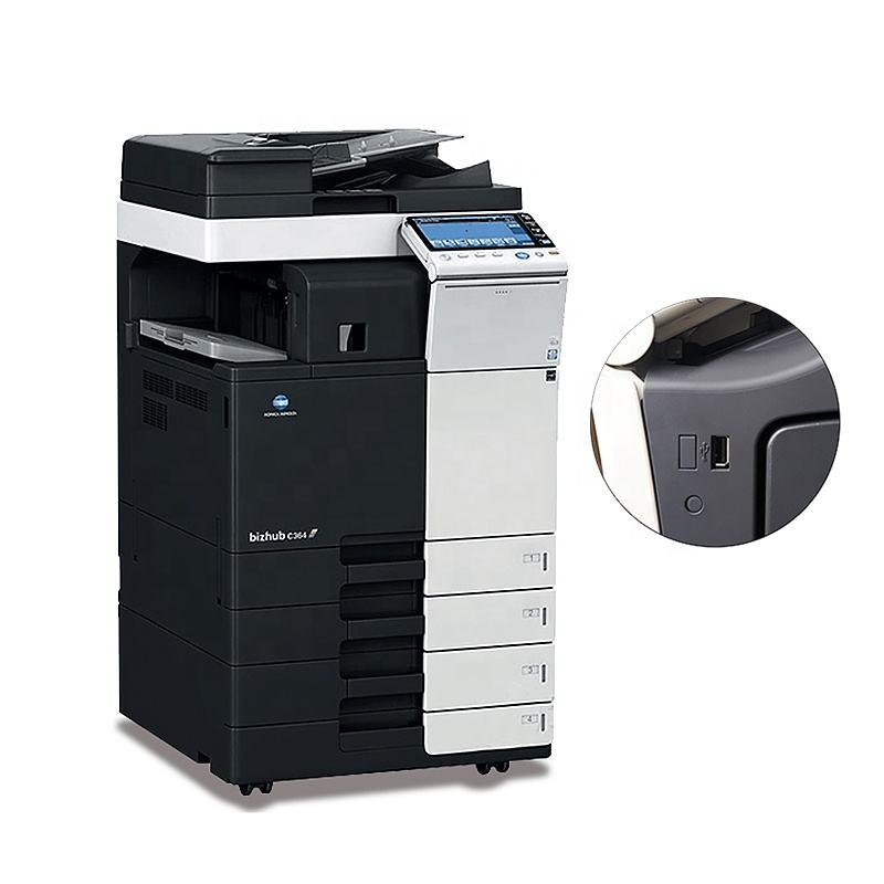 A3 Laser Printer Photocopier for Konica Minolta bizhub 364e Refurbished Copier Machine Office Printer