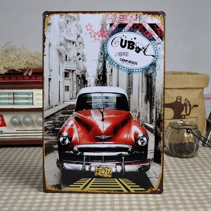 30x20 cm Souvenirs Metal Sign Tin Poster Muur Deur Plaque