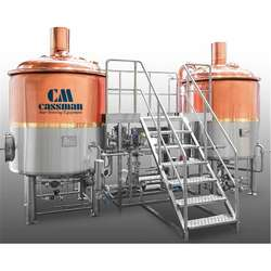 complete copper brewery