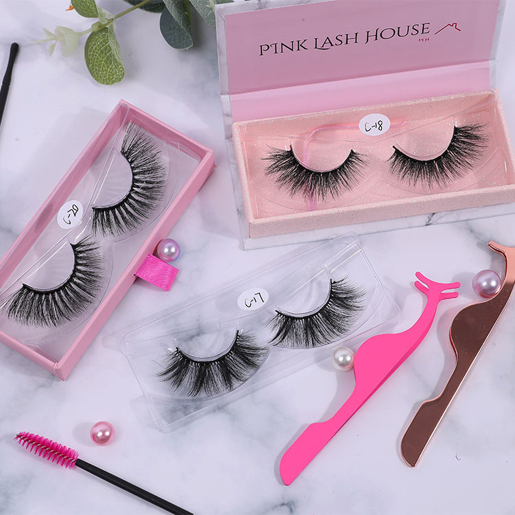 Qingdao Eyelashes Factory Hot Sell Lashes Rts Special Price 3d Faux Mink Lashes Silk Lashes Synthetic False Eyelashes