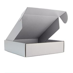 Wholesale custom custom sock white packing boxes cardboard shipping boxes corrugated cartons