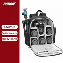 CADeN Custom Waterproof D6 2S Travel Brevite Photography Assistant Video DSLR Camera Bag Backpack For DSLR And Laptop Camcorders