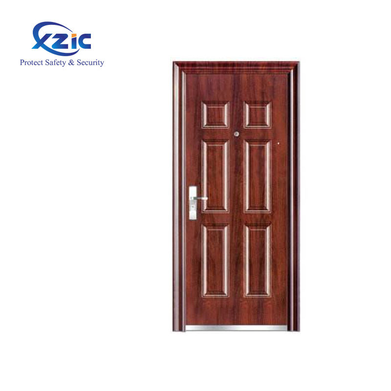 48 inches steel explosion relief door flat exterior door with opening window