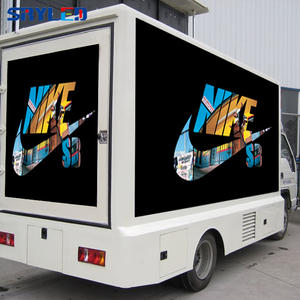 P8 Outdoor Rental Mobile Led Billboard Truck Advertising Screen Panel Display