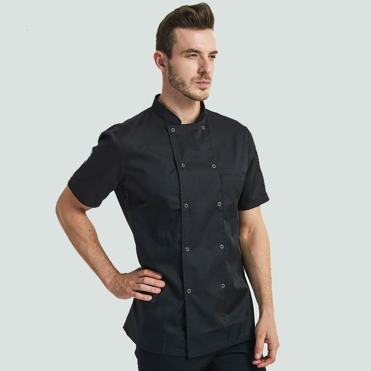 Herfst winter chef uniforme man chef uniform <span class=keywords><strong>jas</strong></span>