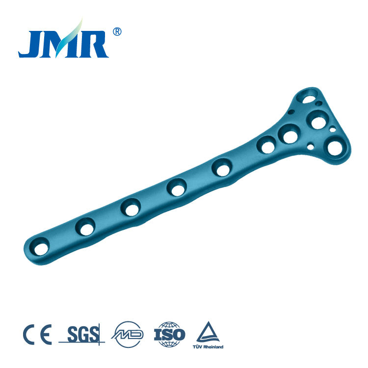 Metal Orthopedic trauma plate and screws Humerus Condyle Plate orthopedic implant
