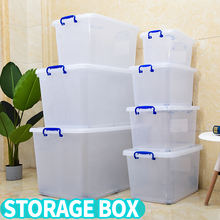Wholesale Multi Purpose Transparent Clear Large Toys Baby Plastic Storage Box
