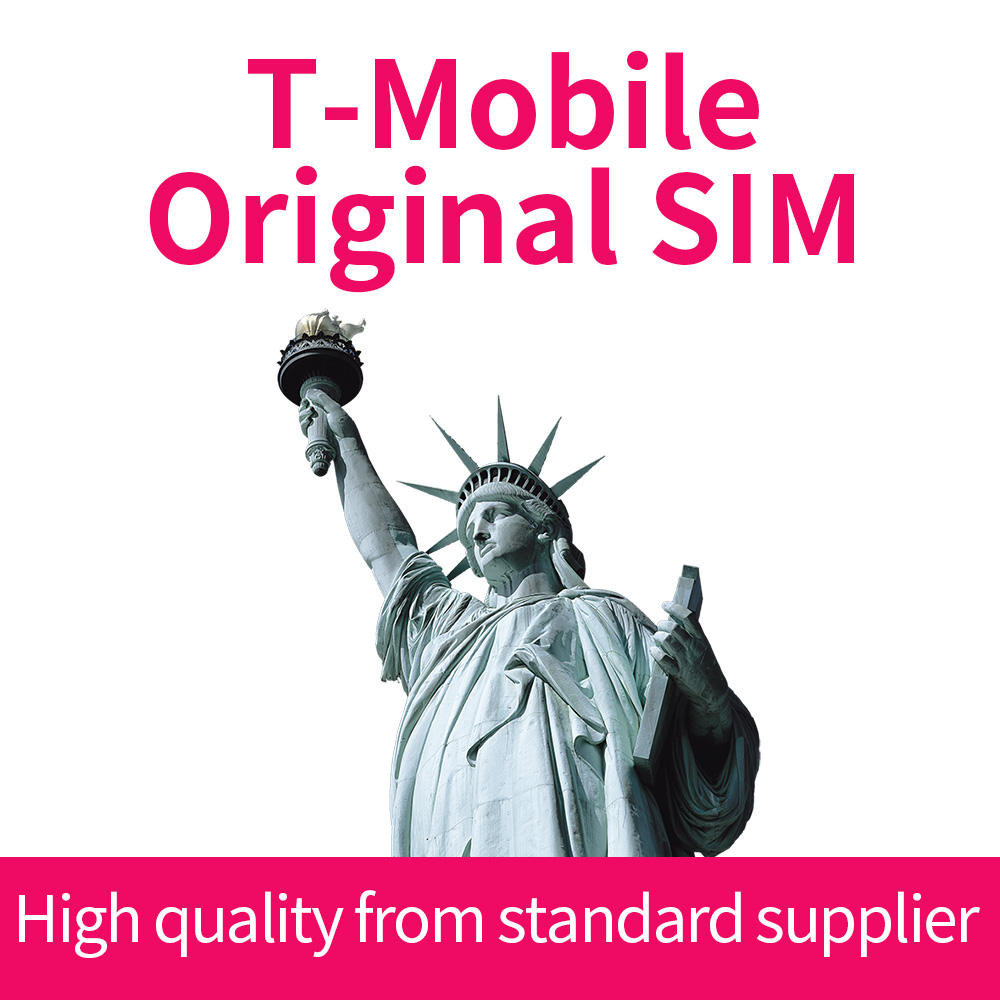 T-Mobile USA SIM Card Top up Service -True Unlimited High Speed Data/Calls/Texts 1-60 Days