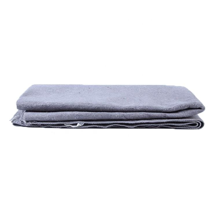 Customized Needle Punched Non Woven Polyester Felt moving blankets, moving pads