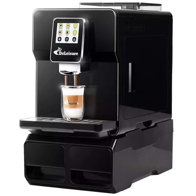 Italian fully automatic espresso coffee machine with grinder