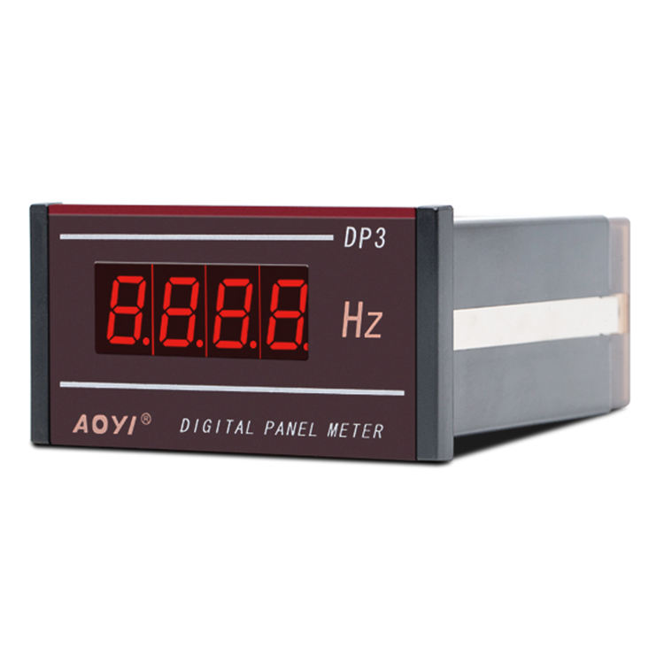 Pressure Gauge Harga Single Phase Digital Panel Meter LED Display Listrik Gauge Rpm Panel Meter