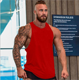 Wholesale Custom Print Gym Bodybuilding Breathable Fitness Workout Tank Top Men Muscle