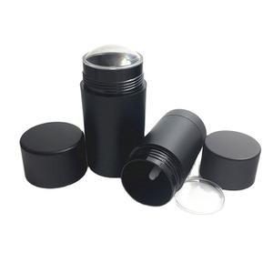 high quality round plastic bottle sun stick container wholesale 6g 15g 30g 50g 75g deodorant stick container