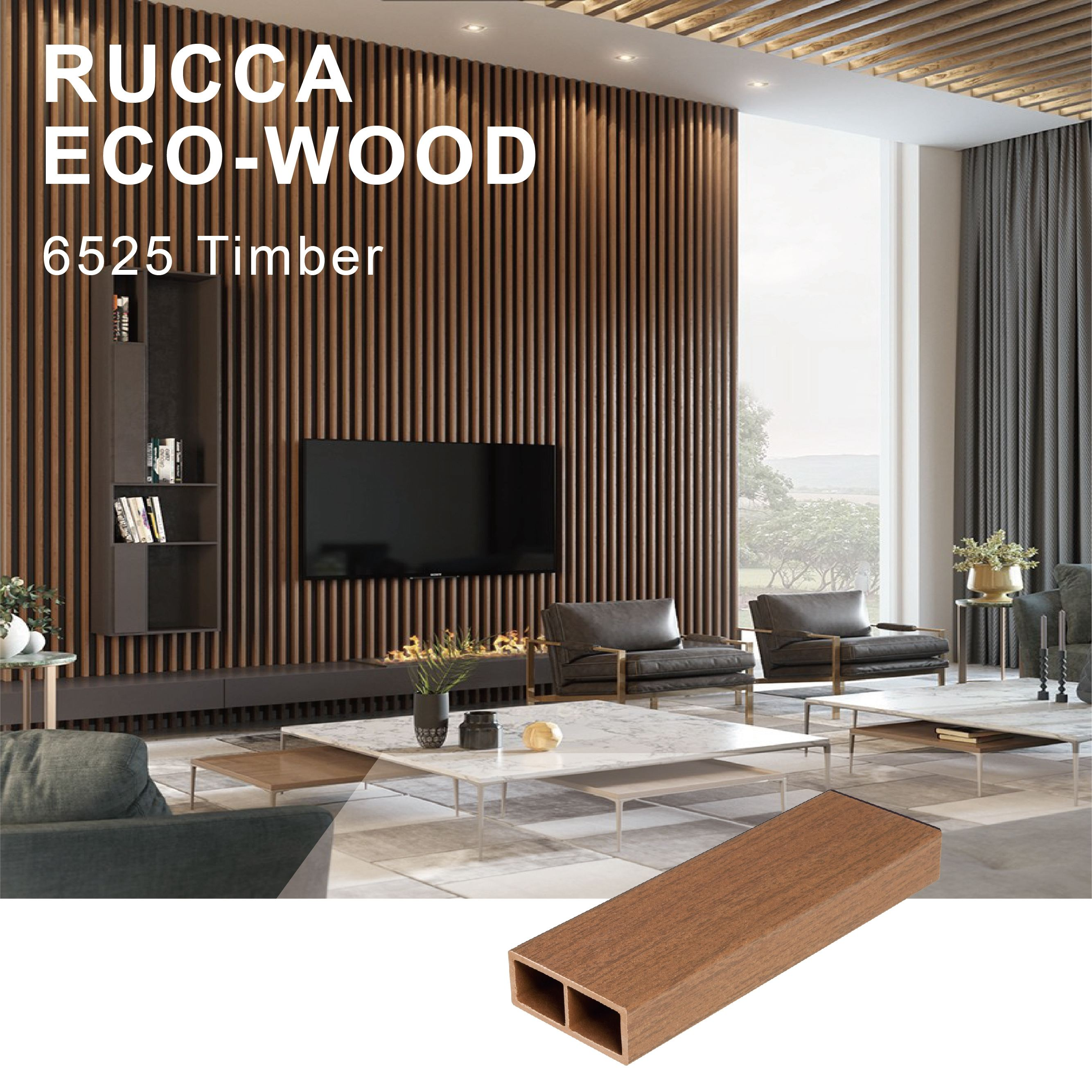 Foshan Wooden composite hollow timber in plywoods interior decoration 65*25mm best quality for construction Guangdong