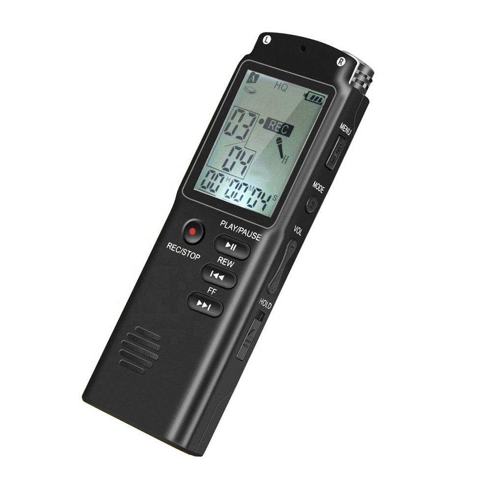 Professional Mini Portable Hidden Long Distance Spy USB Digital Voice Activated Recorder
