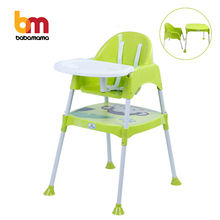 High Quality Luxury Multifunction Adult Baby Food Highchair, Kids Baby Plastic Dining Feeding High Chair