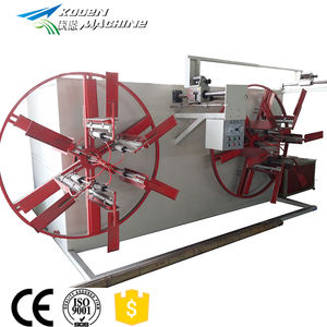 Flexible operation Single double plastic pipe winder/coiling machine/wire coiling machine