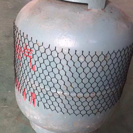 Hot selling plastic net for cylinder protection