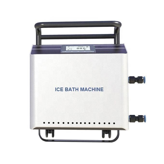 回復のための冷たいシャワーのスリラーの熱い浴室の氷風呂機械氷風呂