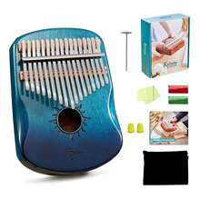 handmade musical instrument kalimba finger piano kalimba 17 steel keys