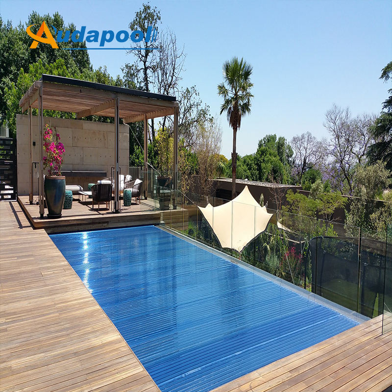 New Style Top Quality r automatic pool cover big swimming pool round shape pool.