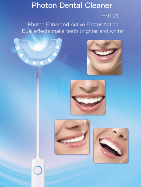 Luxury Box Wholesale Private logo Kits Teeth Whitening with led light