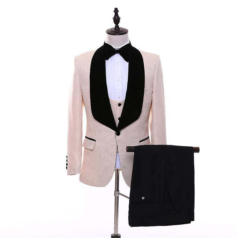 New arrival designer tailor Italian business formal slim wedding tuxedo suits double breasted custom coat pant design for men