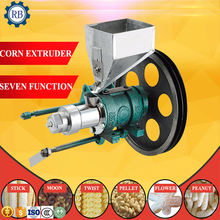 corn/rice puffing machine Multifunction cereal bulking machine Puffed snack food