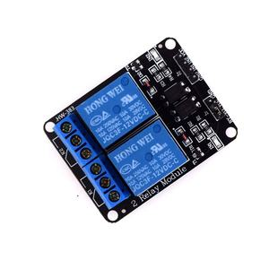 HW-383A 2-way relay module 5V with optocoupler isolation protection relay expansion board machine