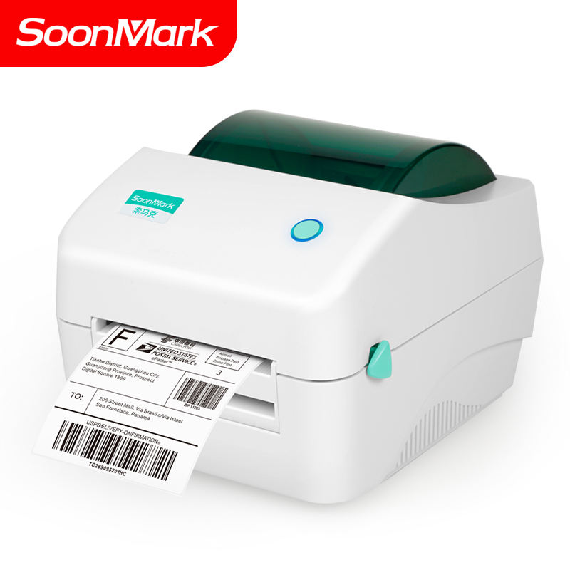 4 inch commercial barcode direct 110mm stickers waterproof thermal label printer