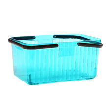 Bathroom gargle storage basket, plastic bathroom gargle things storage basket