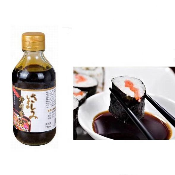 Nice Sushi Dipping Sauces Bottle Package Fancy 200ml Soy Sauce