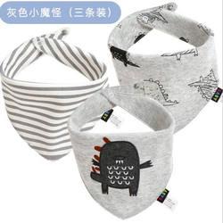 Triangular Infant Saliva Cotton Bib For Baby cartoon printed newborn bandana drools  bibs