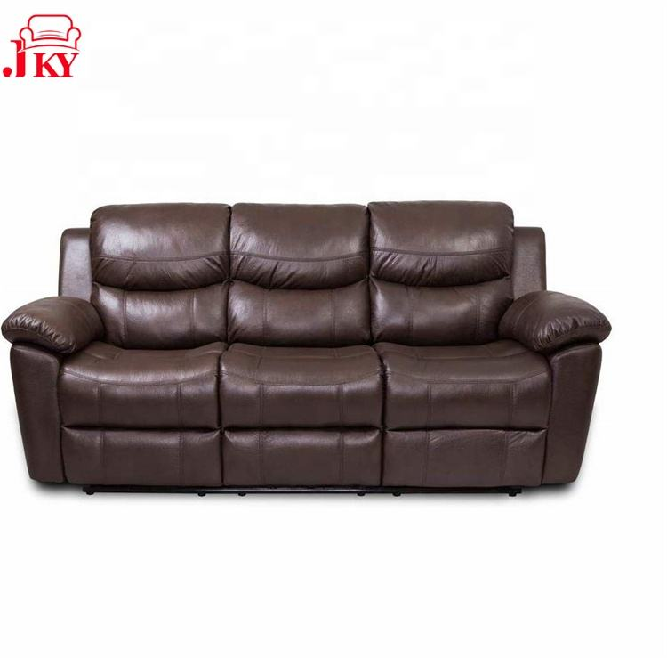 JKY Furniture Modern 3 Piece Seater Sectional Motion Recliner Sofa Set Living Room Furniture Home Furniture Synthetic Leather