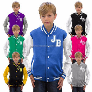 Wholesale Customized Varsity jacket for kids