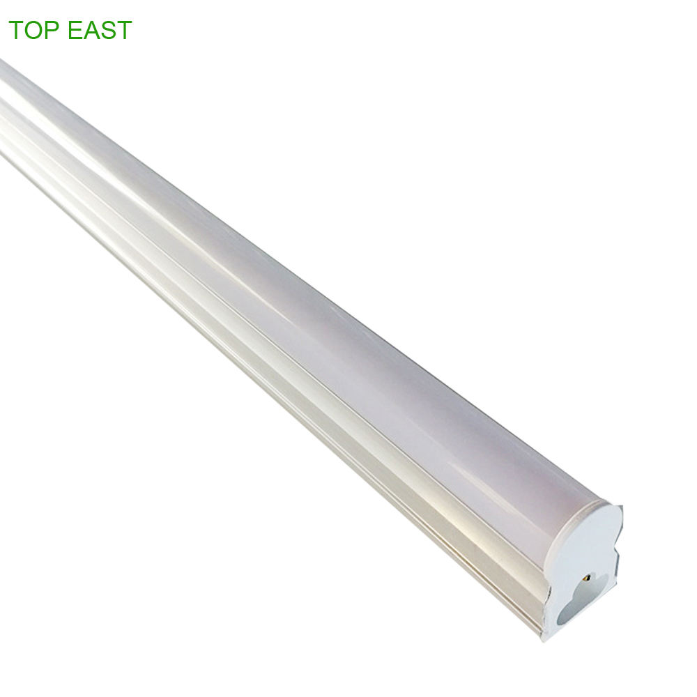 Supermarket Factory School Office 120LM/W 18w 22w T5 Fluorescent Light Fixture Integrated T5 LED Tube Light