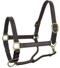 Amazon Customized head collar pvc Horse Halter with solid brass fittings, wholesale Horse Riding Leather PVC Halter