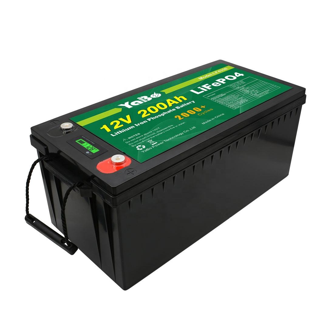 Deep Cycle Rechargeable Lithium Ion Lifepo4 Solar Battery 12v 200ah Lithium Ion Battery 12v