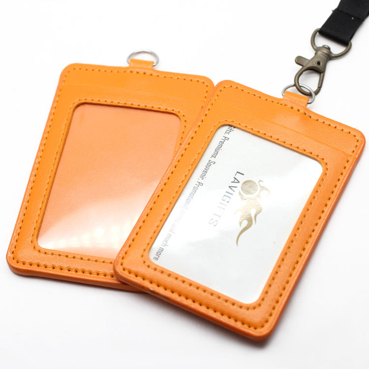 Top Sale Wholesale Custom ID Card Name Tag Holder With Lanyard