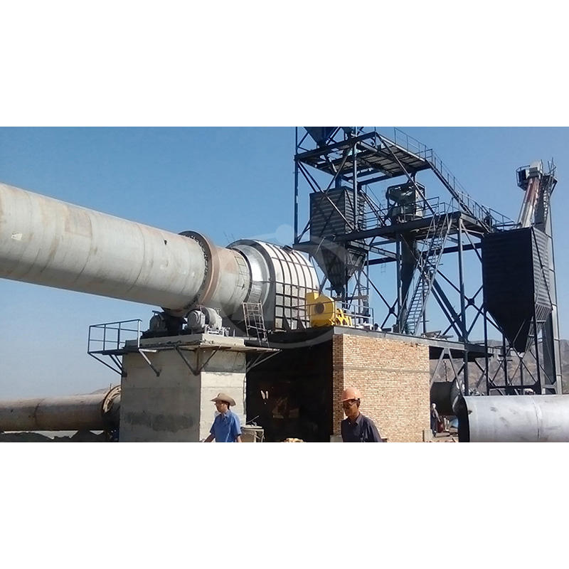Energy Saving Dolomite Rotary Kiln Mineral Calcination